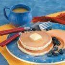 Pancakes with Orange Syrup