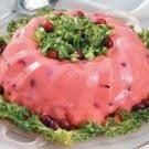 Triple Cranberry Salad Mold