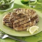 Barbecued Pork Chops with Rosemary Lemon Marinade