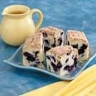 Blueberry Buckle with Cinnamon Topping