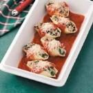 Spinach-Pork Stuffed Shells