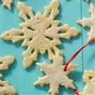Snowflake Ornament Cookies