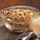 Chinese Chicken Salad with Sesame Ginger Dressing