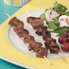 Peanutty Beef Skewers
