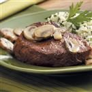 Steaks with Mushrooms