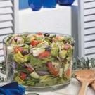 Greek Lettuce Salad