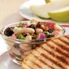 Colorful Tuscan Bean Salad