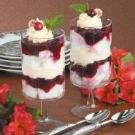 Individual Cranberry Trifles