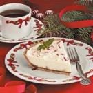 White Chocolate Mint Pie