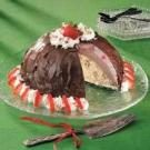 Triple-Layer Ice Cream Bombe