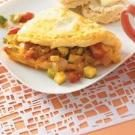 Fresh Vegetable Omelet