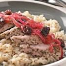 Pork Tenderloin with Cherry Relish