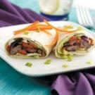 Colorful Beef Wraps