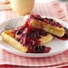Blueberry/Rhubarb Breakfast Sauce