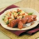 Smoked Sausage with Vegetables