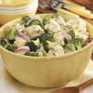 Broccoli-Cauliflower Floret Salad