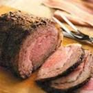 Coffee-Crusted Prime Rib