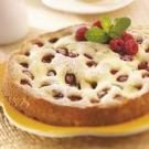 Low-Fat Raspberry Cream Cheese Coffee Cake