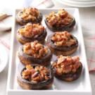 Bacon-Pecan Stuffed Mushrooms