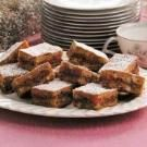 Candied Orange Date Bars