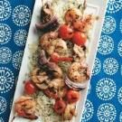 Skewered Shrimp & Vegetables