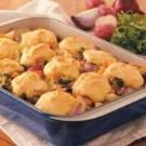 Corn Bread Vegetable Cobbler