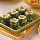 Red Pepper Green Bean Roll-Ups