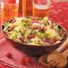 Herbed Raspberry-Hazelnut Salad