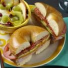 Ham & Cheese Bagels