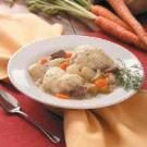 Beef Stew with Dilly Dumplings