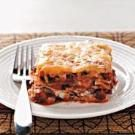 Cheesy Black Bean Lasagne