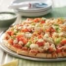 Salsa Chicken Fajita Pizza