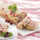Cranberry-Nut Jelly Roll
