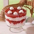 Heavenly Cherry Angel Food Trifle