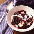 Black Raspberry Dumplings
