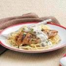 Grilled Chicken with Cream Sauce