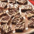 Tuxedo Frosted Brownies