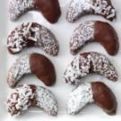 Chocolate Almond Crescents