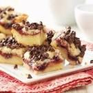Chocolate Chip Raspberry Bars