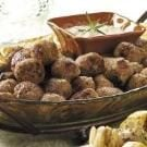 Rosemary Veal Meatballs
