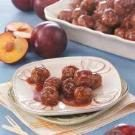 Meatballs in Plum Sauce