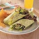 Zesty Vegetarian Wraps
