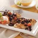 Tilapia with Grapefruit Salsa