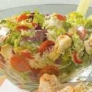 Artichoke-Pepperoni Tossed Salad
