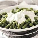 Green Beans with Dill Cream Sauce