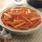 Glazed Julienned Carrots