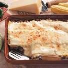 Three-Cheese Sausage Lasagna