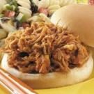 Shredded Barbecued Pork Sandwiches