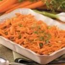Baked Shredded Carrots