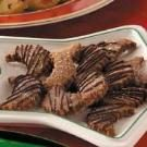 Chocolate Walnut Crescents